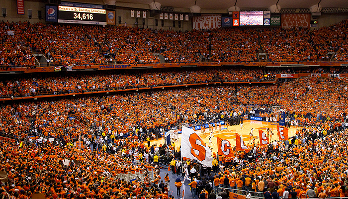 Carrier Dome Syracuse University Athletics