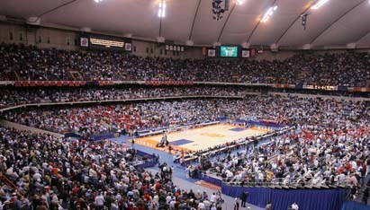 Schedule Set For 2010 Ncaa Men S Basketball East Regional Syracuse