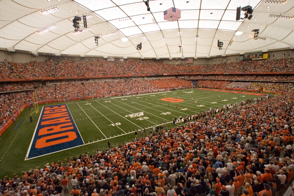 Carrier Dome Managing Director says project has 'officially begun'