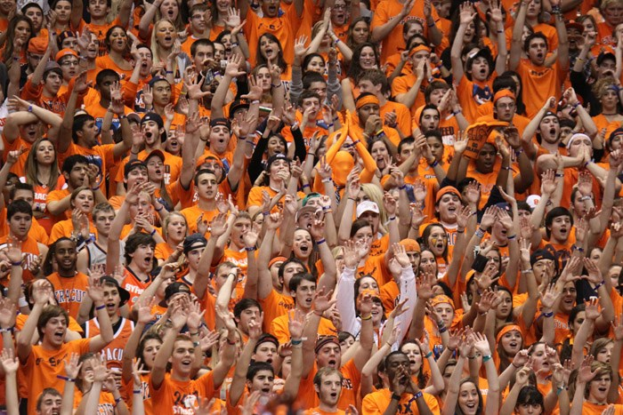 Syracuse Ranks Second In College Basketball Attendance