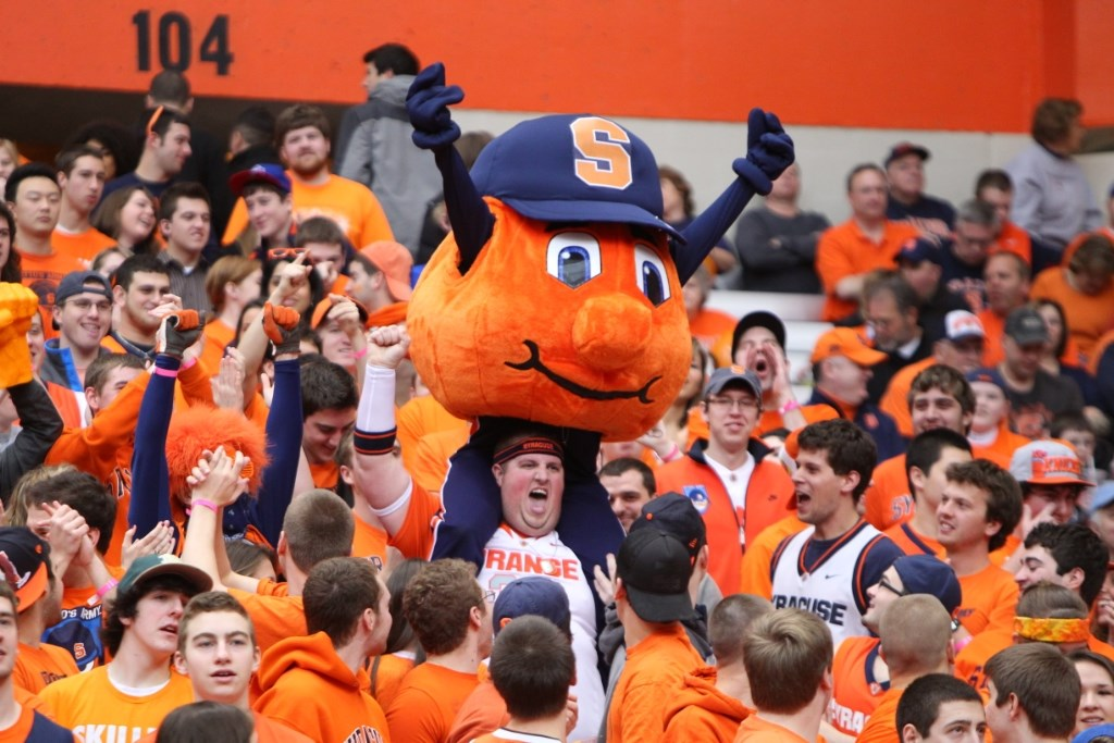 Syracuse Mascot Syracuse University Athletics