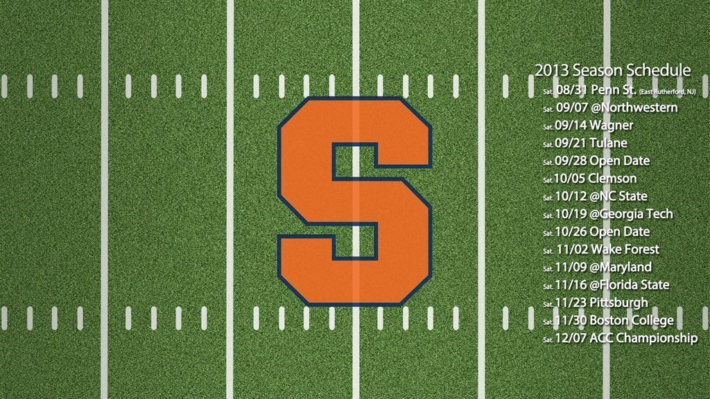 National Letter of Intent - Syracuse University