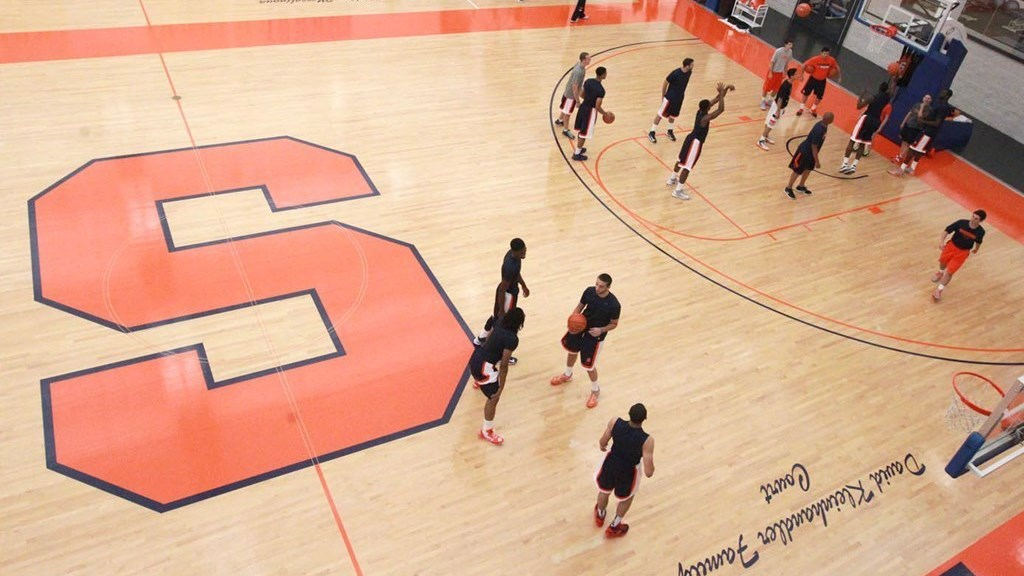 af115d7e8ca9 SU Hoops Holds First Practice - Syracuse University Athletics