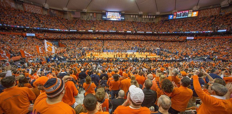 Sold Out Dome Will Be Electric For Cuse Vs Duke