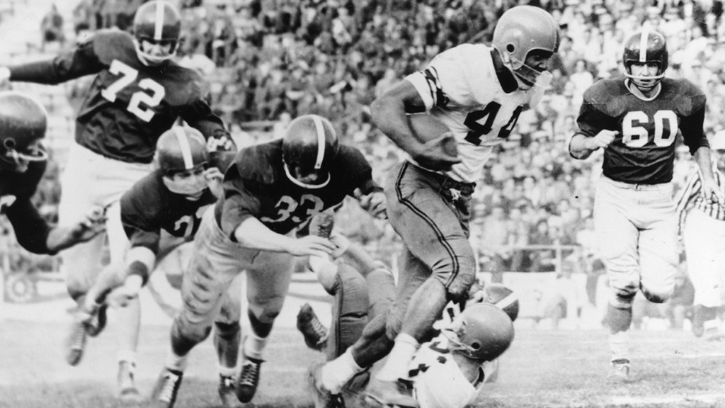 Jim Brown Named Greatest College Football Player by ESPN