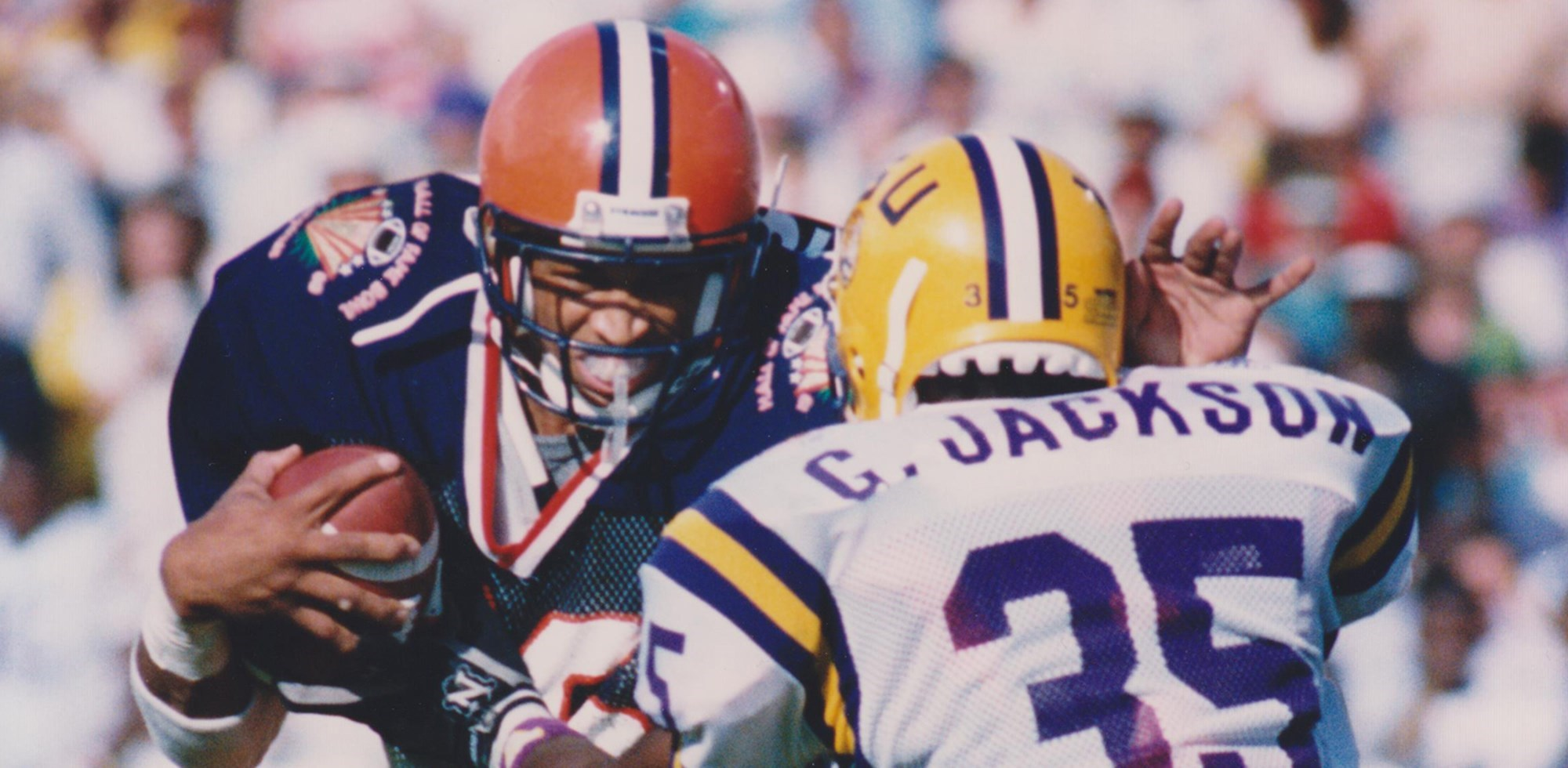 TBT: Orange Beats LSU in 1989 Hall of Fame Bowl - Syracuse ...