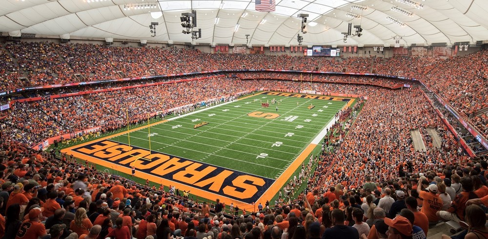 Carrier Dome Facilities Syracuse University