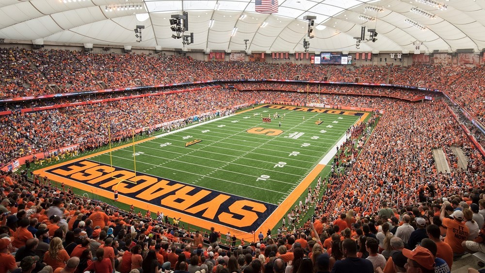 Carrier Dome Facilities Syracuse University Athletics