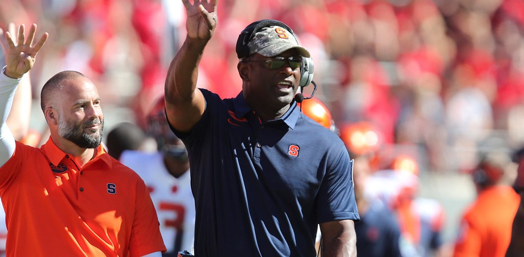 Dino Babers Signs Long Term Contract Extension Syracuse University