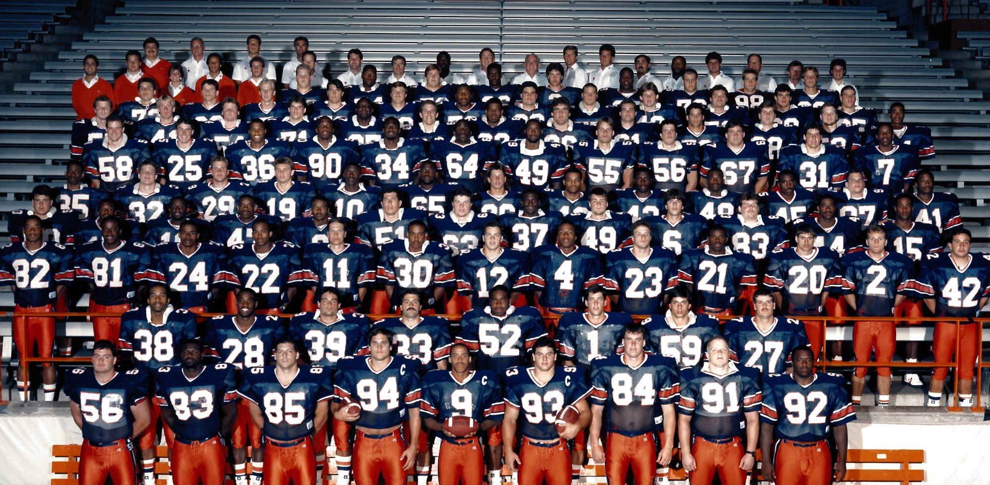 84eaa2f6 The 1987 squad became the second 'Cuse gridiron team to go undefeated after  posting an