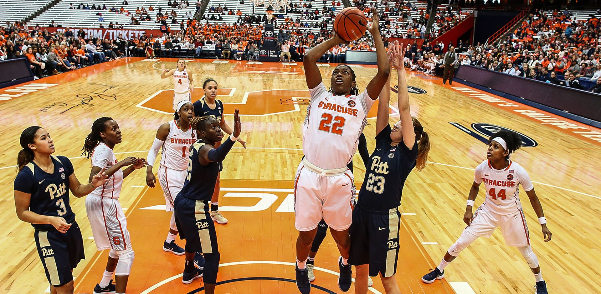 Syracuse tops Virginia Tech in nailbiter, 67-65