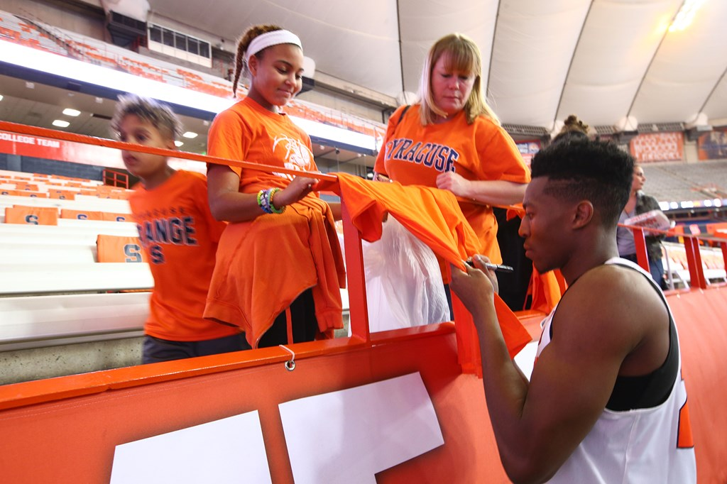 Syracuse Announces Basketball Fan Appreciation Weekend Syracuse