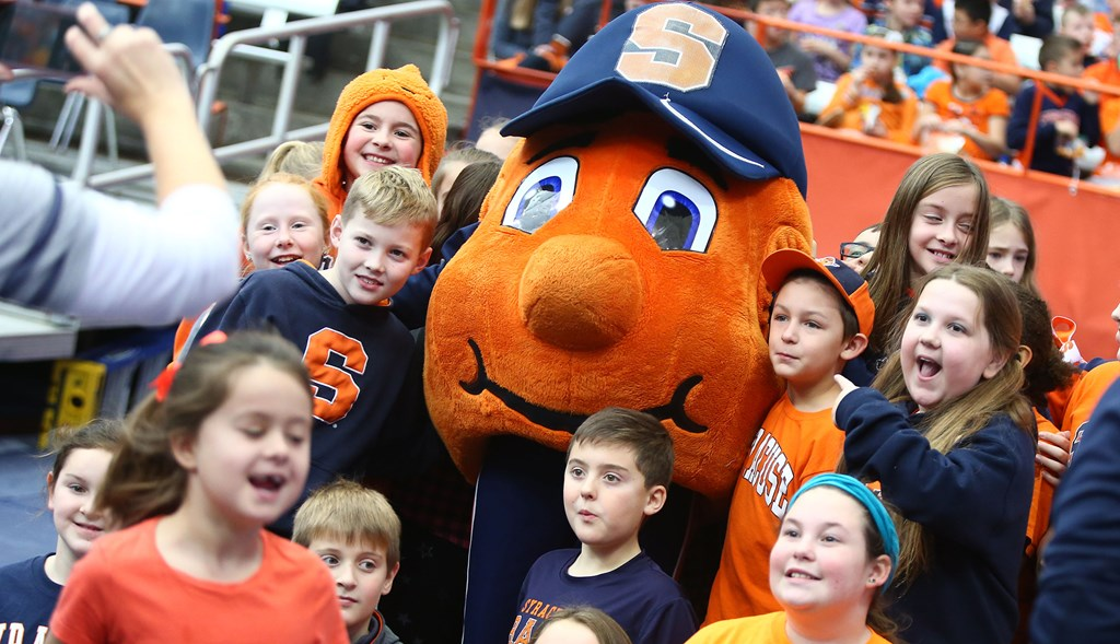 Cuse Basketball Tickets Available For Otto S Kids Club Members