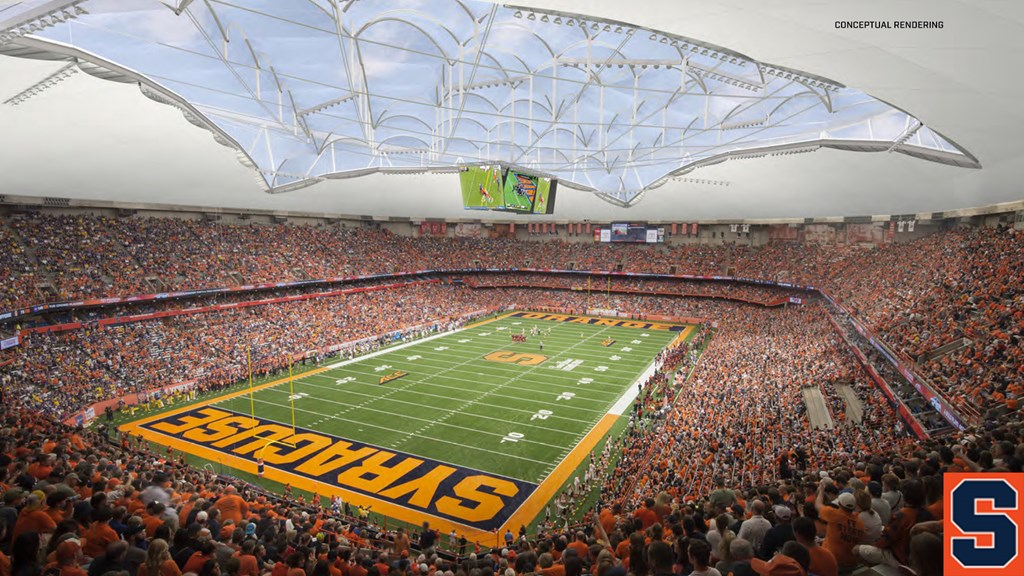 Syracuse takes next step to create new Dome experience