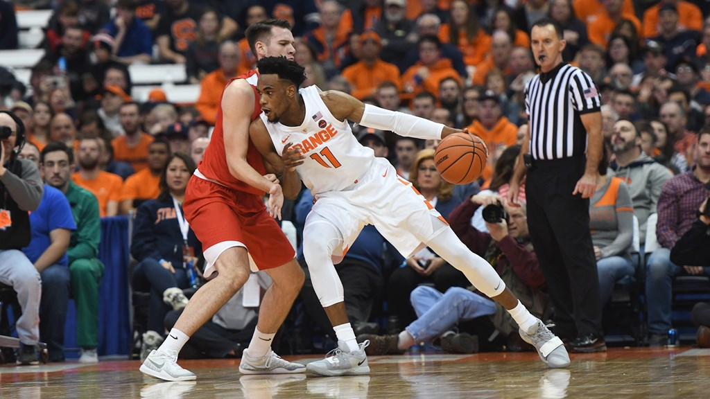 Orange Continue Home Stretch Against Huskies Syracuse University
