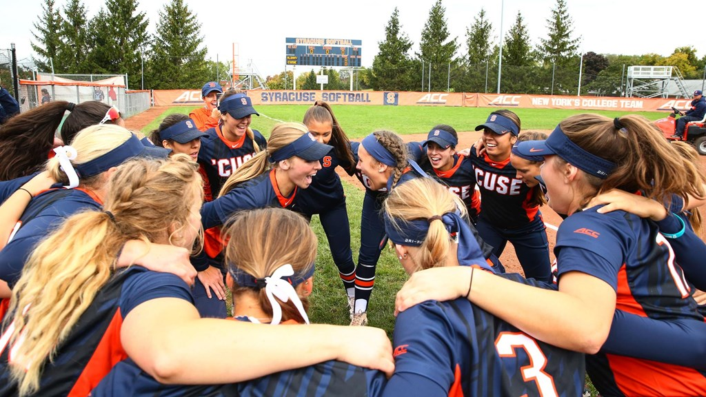 Softball Releases 2019 Schedule Syracuse University Athletics