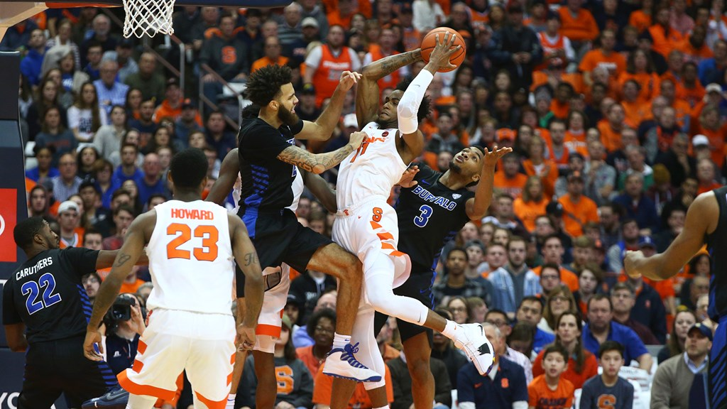 Orange Host Bonnies Saturday Syracuse University Athletics