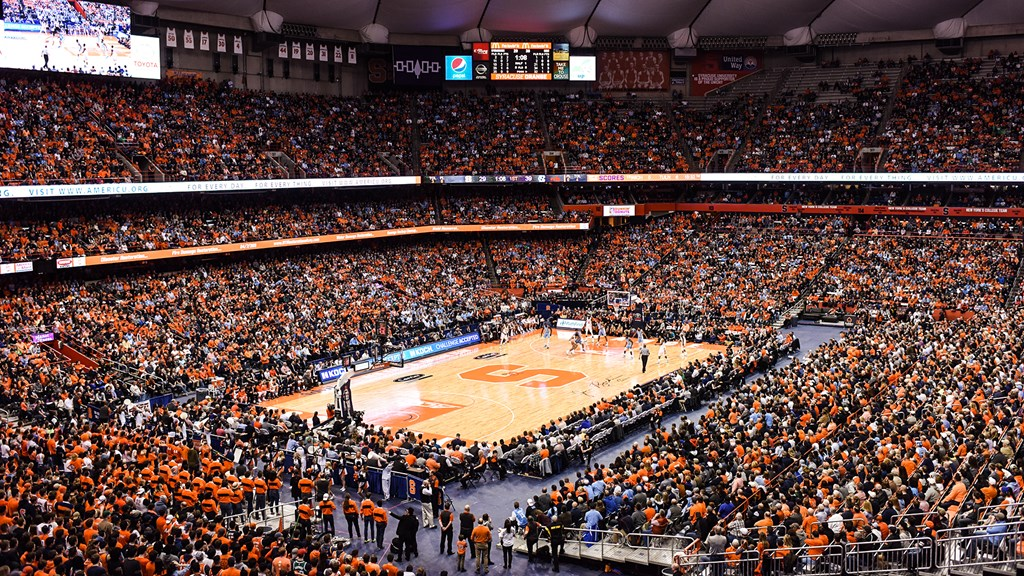 Cuse Men S Basketball Game Against Duke Nears Sellout Syracuse