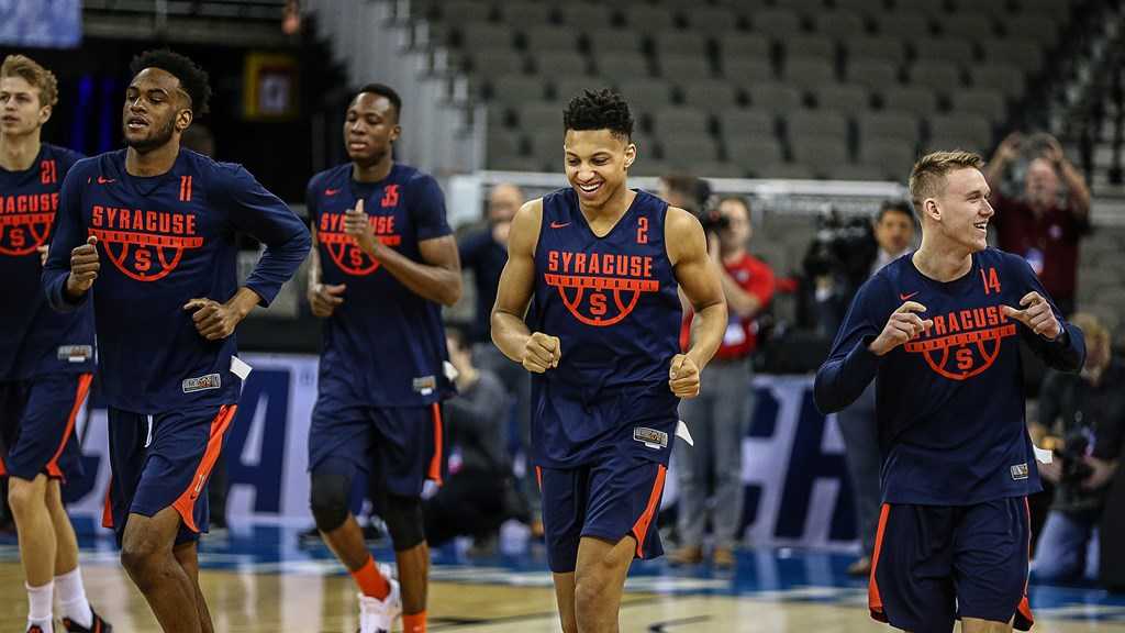 Orange Embracing March Madness Syracuse University Athletics