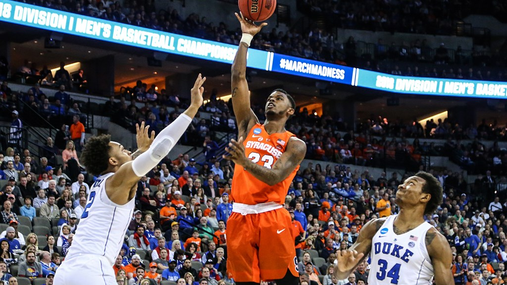 Cuse Starts Hoop Campaign Ranked Syracuse University Athletics