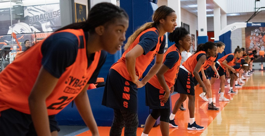 Women S Basketball Begins Practice Syracuse University Athletics