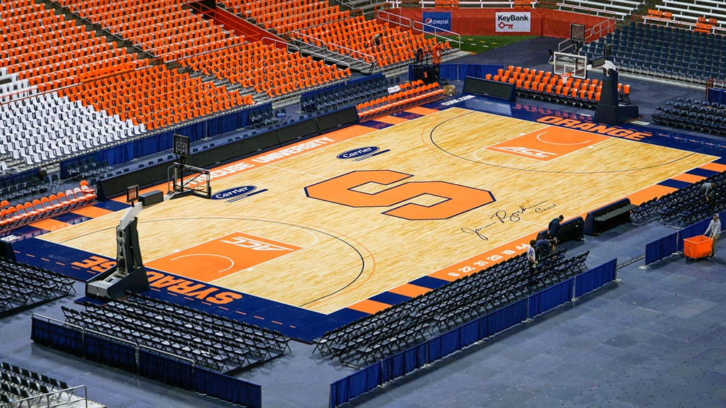 Newly Designed Court to be Unveiled at Orange vs. White Scrimmage