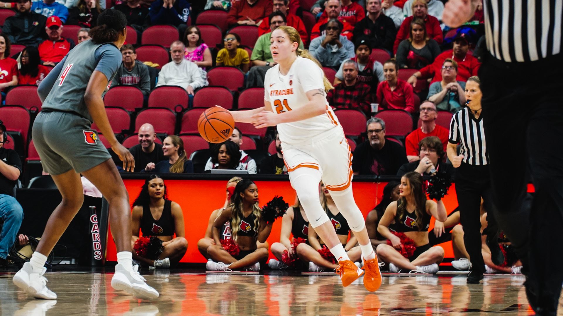 Louisville Outlasts Syracuse in Conference Opener, 62-58