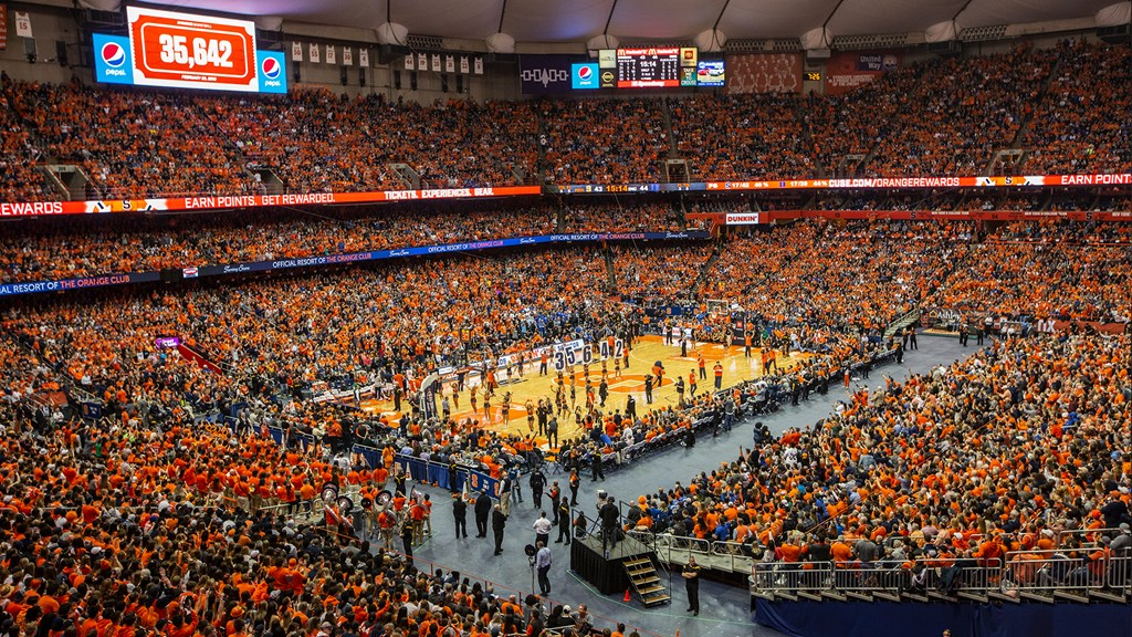 Syracuse Falls To Duke In Front Of Gigantic Dome Crowd