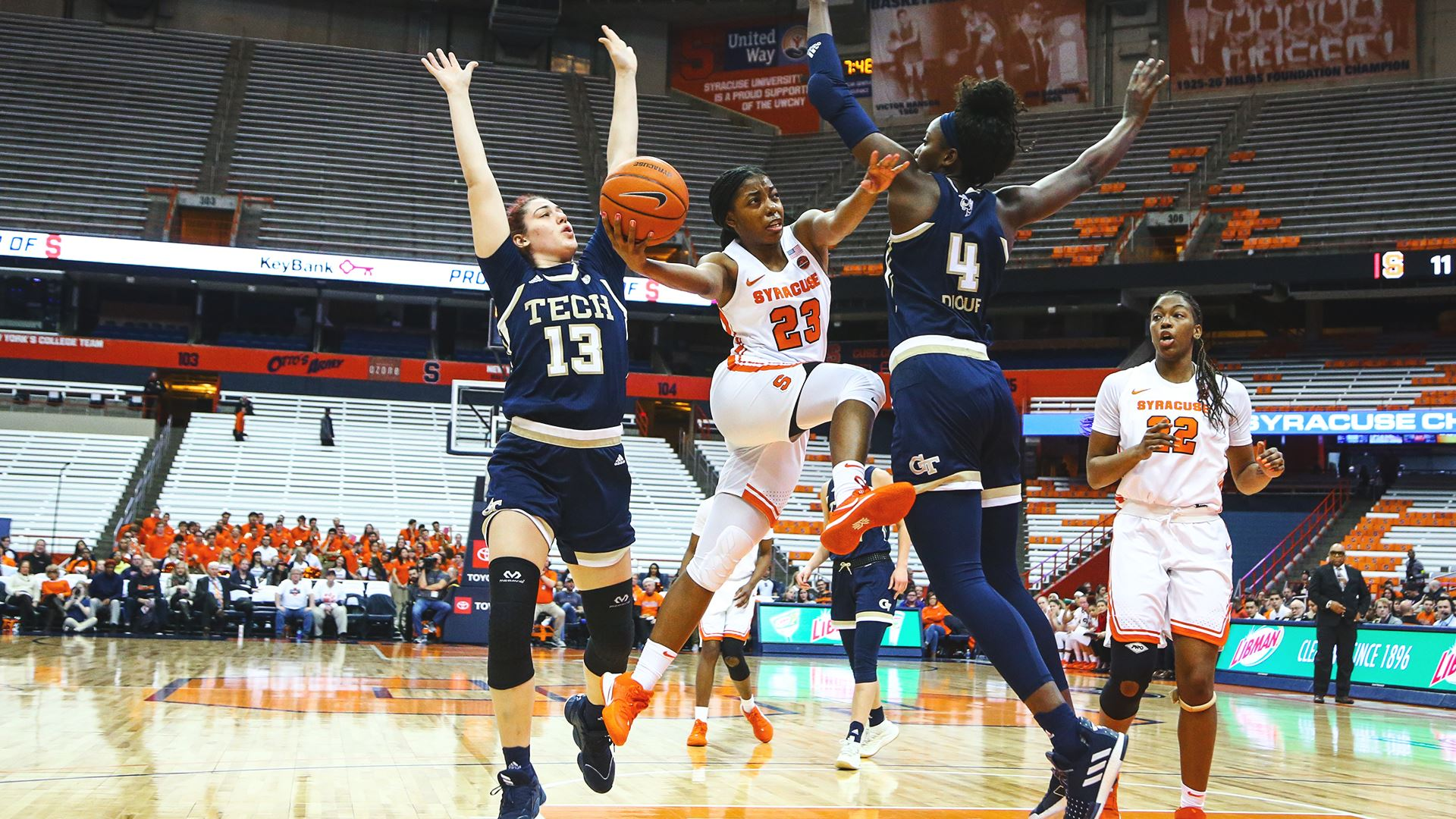 Syracuse gets blown out by Georgia Tech, 82-64
