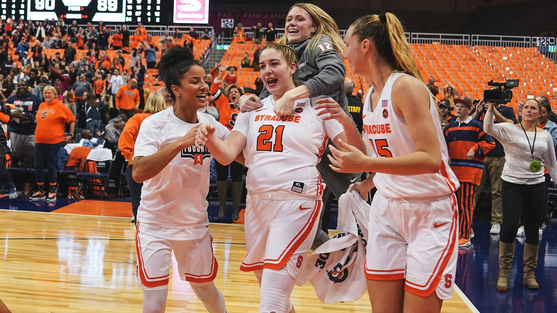 Syracuse tops Florida State on overtime buzzer beater