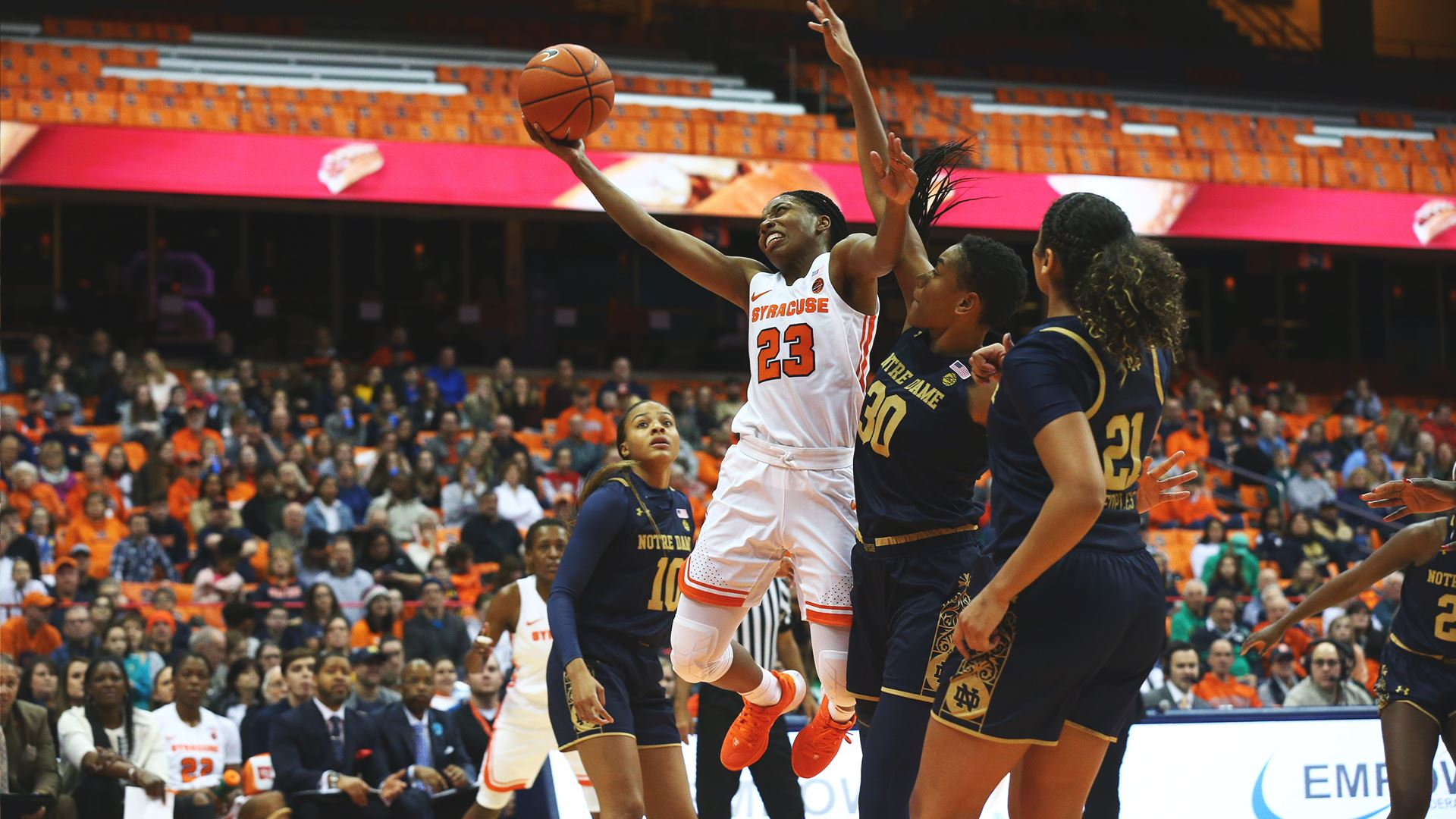 Syracuse takes down Notre Dame in overtime, 74-63