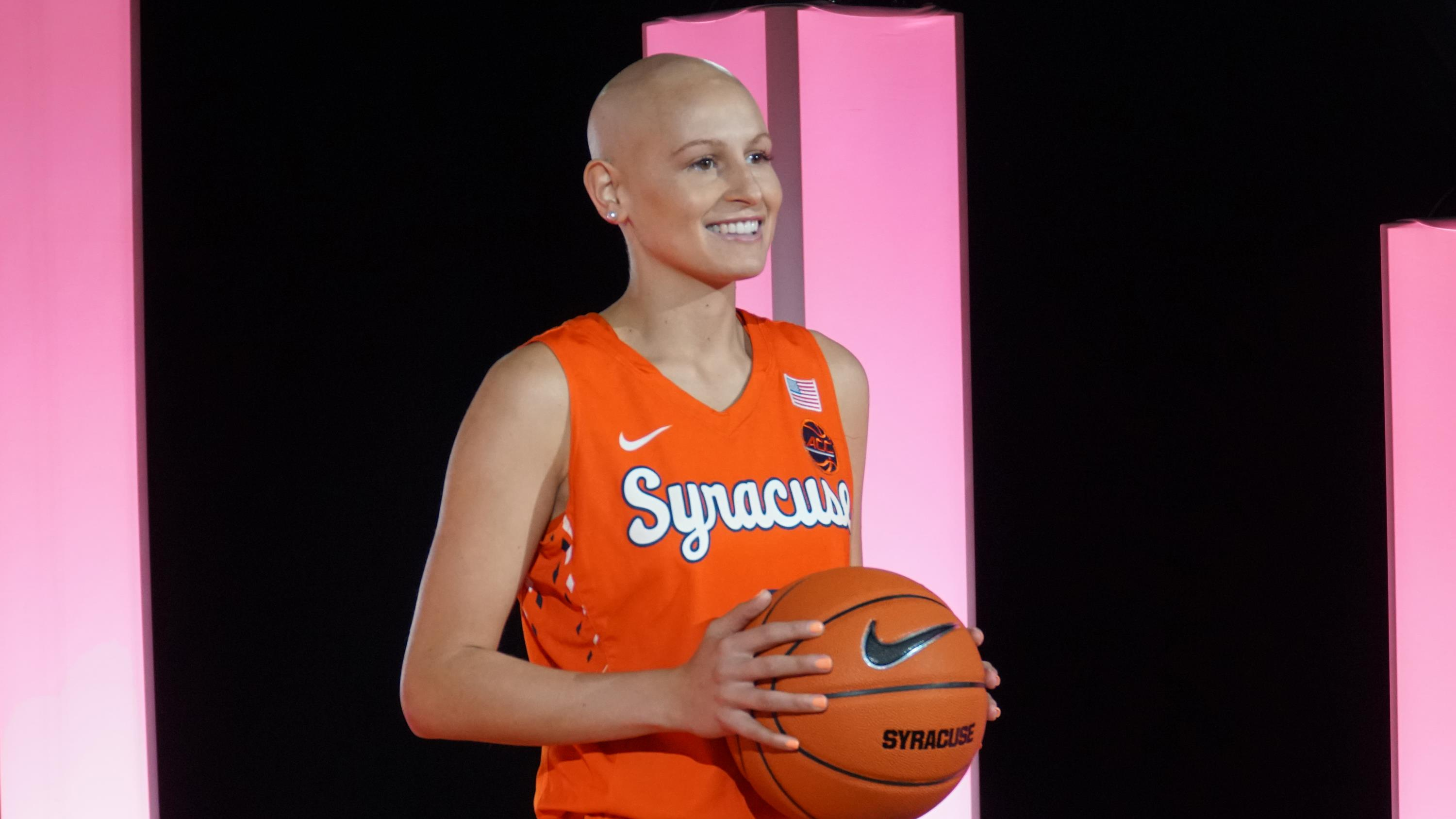 Wear Pink To Sunday S Women S Basketball Game Syracuse University Athletics