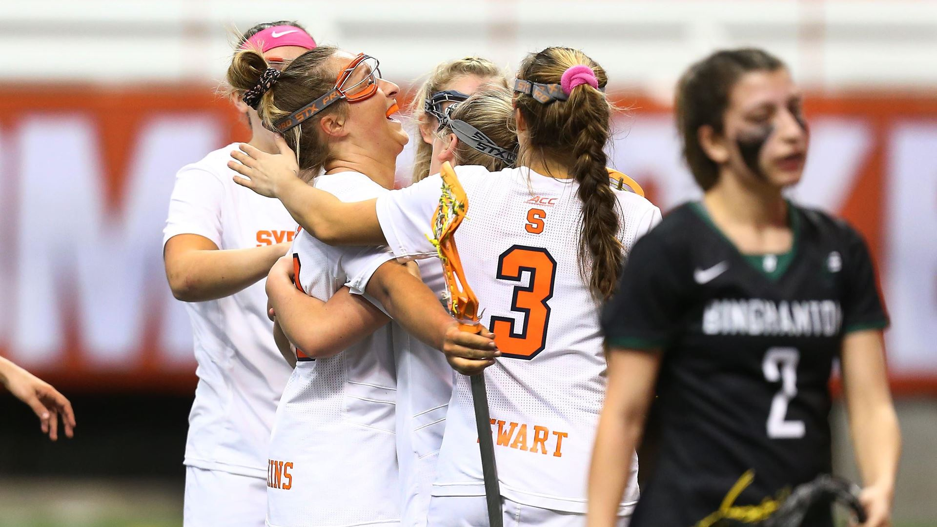 Syracuse Women's Lacrosse cruises to win over Binghamton