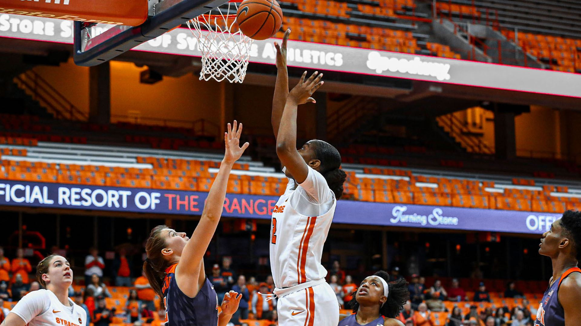 Syracuse women top Clemson for fifth straight victory, 59-46