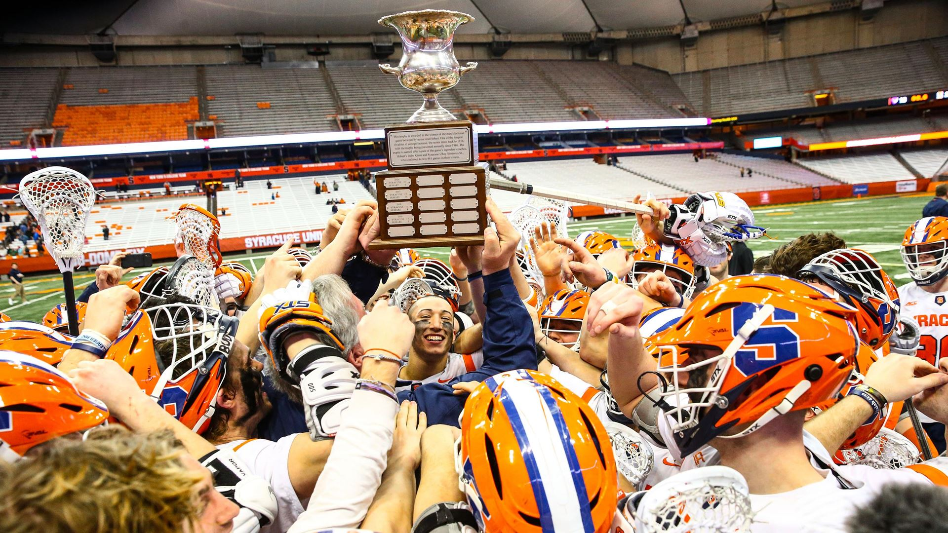 ORANGE-HOBART LIVE COVERAGE: Syracuse defeats Hobart 21-13, wins seventh straight Kraus-Simmons Trophy