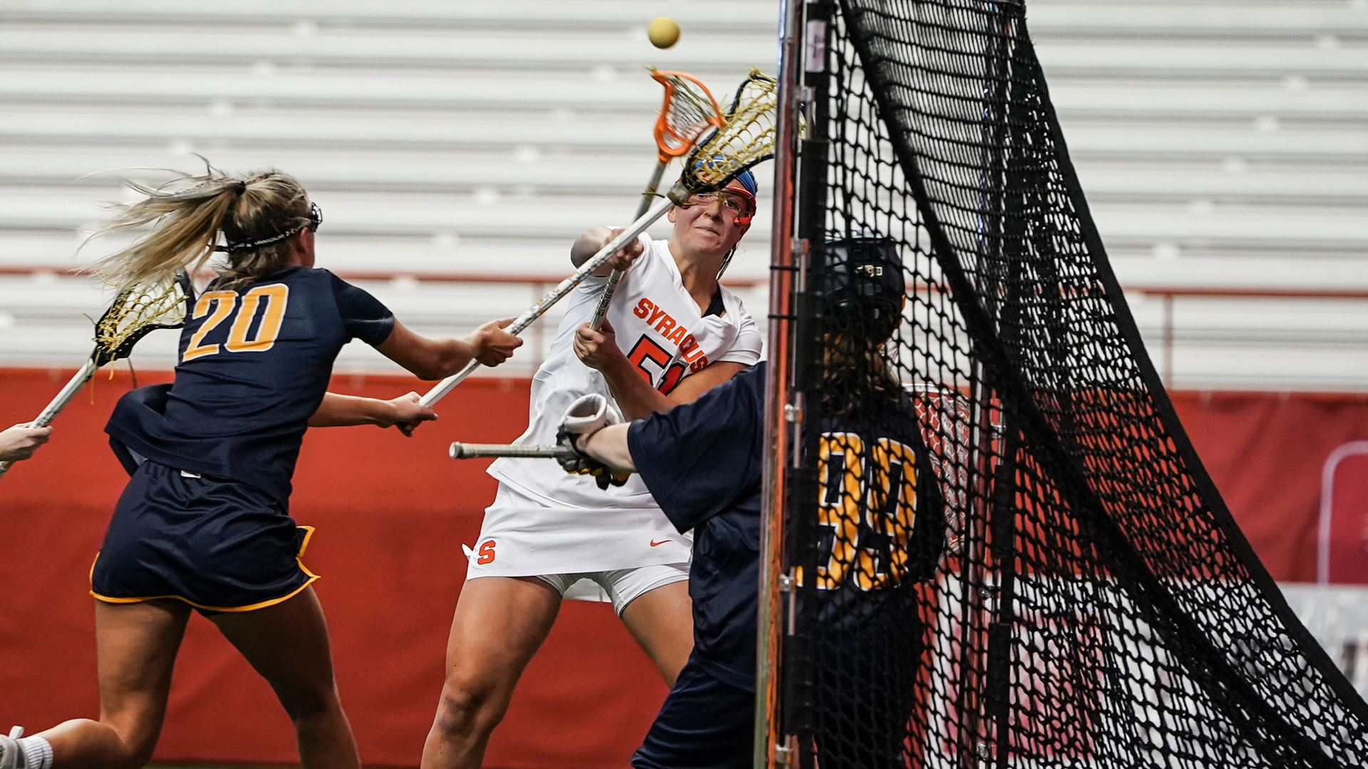 Syracuse Women's Lacrosse rolls past Virginia Tech in ACC opener