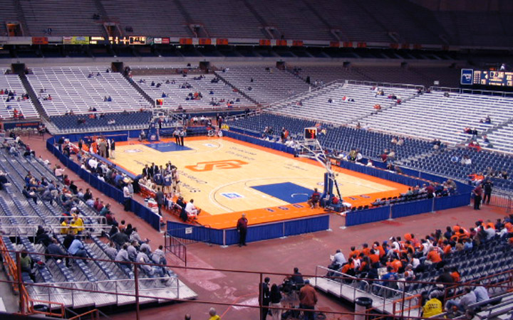 Carrier dome seating syracuse university athletics